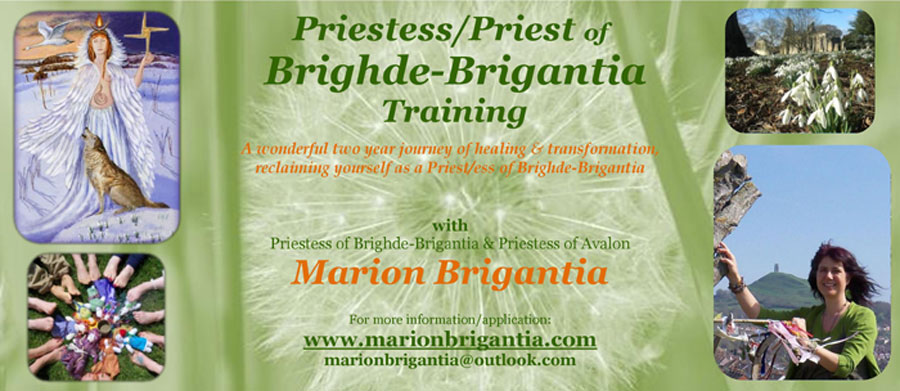 Priest/ess of Brighde-Brigantia Training