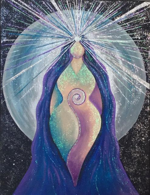 Goddess Luminary image by Kat Shaw