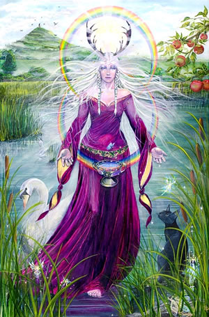 """Lady of Avalon"", by Caroline Lir"
