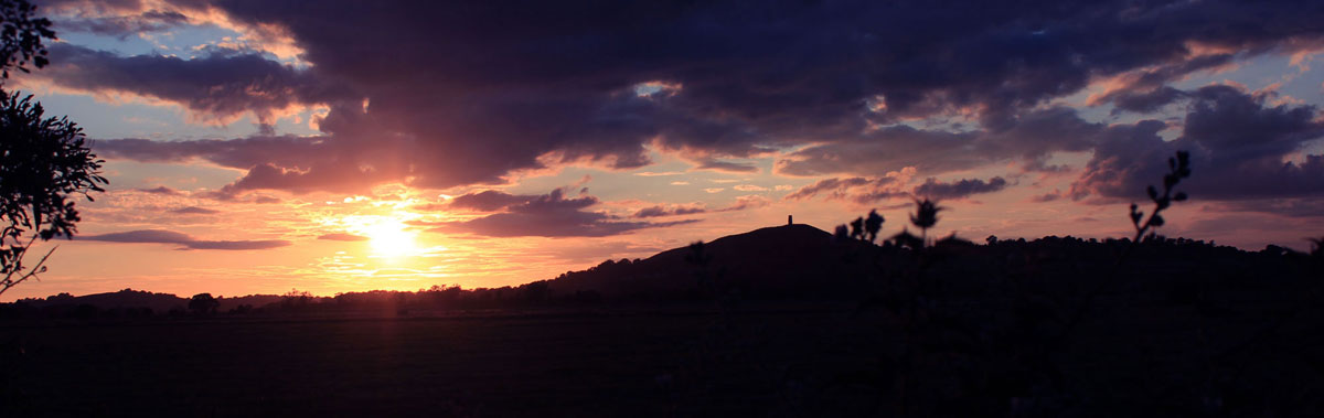 Sunrise on the Tor